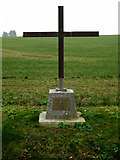 TM2584 : Memorial off Church Lane by Adrian Cable