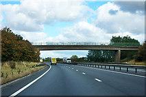 SK8061 : A1 - Church Lane bridge, Cromwell by Robin Webster