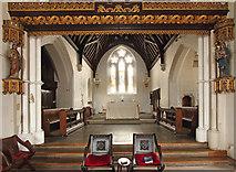 TQ2976 : Christ Church, Union Grove - Chancel by John Salmon