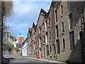 NZ2463 : (Former) bonded warehouses, Hanover Street, NE1 by Mike Quinn