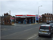 TF3387 : Service station on Newmarket, Louth by JThomas