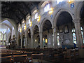 SE1633 : Bradford Cathedral: nave by Stephen Craven
