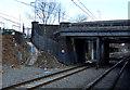 SP0177 : Railway heading north into Longbridge Railway Station by JThomas