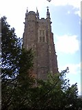 ST0207 : The tower of St Andrew's Church, Cullompton by David Smith