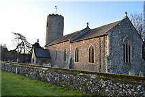 TG1807 : Church of St Andrew by N Chadwick