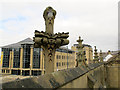 SE1633 : Bradford Cathedral: pinnacles by Stephen Craven