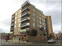TQ3279 : New Sainsbury's Local on Long Lane, Bermondsey by Stephen Craven
