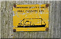 TA0336 : An old Hull Country Way marker on Park Lane by Ian S