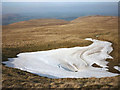 NY4518 : Snow patch in Loadpot Hole by Karl and Ali