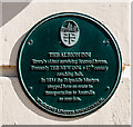 SU0000 : No. 4 (of 12) the Green Plaques of Wimborne - Albion Inn by Mike Searle