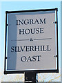 TQ7326 : Ingram House & Silverhill Oast sign by Oast House Archive