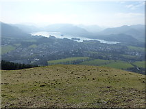 NY2724 : Latrigg: View of Keswick and Derwent Water by Anthony Foster