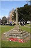 SO7031 : War Memorial in Dymock by Philip Halling