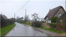 SP3114 : Witney Lane, looking towards Leafield by Jonathan Billinger