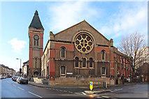 TQ3075 : St Andrew, Landor Road by John Salmon