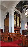 TQ3075 : St Andrew, Landor Road - Organ by John Salmon