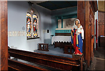 TQ3075 : St Andrew, Landor Road - North chapel by John Salmon
