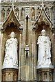TR1557 : Statues of Queen Elizabeth II and the Duke of Edinburgh, Canterbury by pam fray