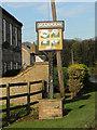 TF7008 : Marham village sign by Adrian S Pye