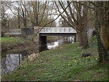 TM2384 : Starston Bridge on The Street by Geographer