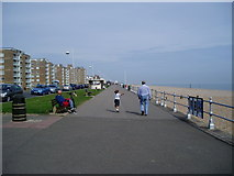 TQ7306 : Bexhill Promenade by Peter Holmes