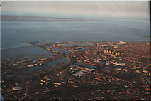 TA2710 : Grimsby Docks and East Marsh estate: aerial 2015 by Chris