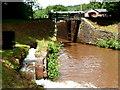 SO1419 : Canal feeder channel, Llangynidr by Jaggery