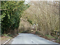 SP8204 : Road, Lower Cadsdean by Robin Webster
