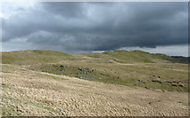 SN7767 : Moorland  and Graig Ty-crin, Ceredigion by Roger  Kidd