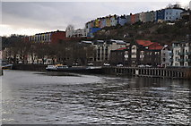 ST5772 : Bristol : Floating Harbour by Lewis Clarke