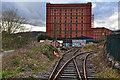 ST5772 : Bristol : Railway & Warehouse by Lewis Clarke