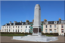 NS3321 : War Memorial, Wellington Square, Ayr by Leslie Barrie