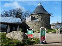 SM7525 : Tourist Information Centre, St Davids by Robin Drayton