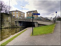 SE1437 : Leeds and Liverpool Canal, Shipley Bridge (207C) by David Dixon