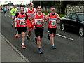 H4672 : Omagh Half Marathon - runners (7) by Kenneth  Allen
