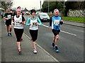 H4672 : Omagh Half Marathon - runners (9) by Kenneth  Allen