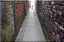 TA0830 : Passageway to Maple Street, Hull by Ian S