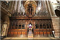SJ4066 : The rood screen at Chester Cathedral by Jeff Buck