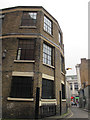 TQ3175 : Beehive Place, Brixton: former warehouse by Stephen Craven