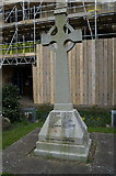 TA0432 : Cottingham War Memorial at St Mary's Church by Ian S