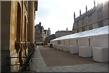 SP5106 : Marquees near the Sheldonian by DS Pugh