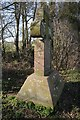 SO6630 : Memorial cross to Audley Money-Kyrle by Philip Halling