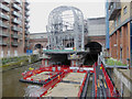 SE2933 : Construction of the new southern entrance to Leeds railway station by Steve  Fareham