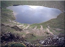 NN4974 : Loch an Sgòir from the Lancet Edge by Alan Reid