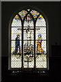 TM2972 : Stained Glass Window of All Saints Church by Adrian Cable