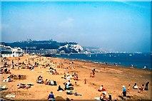 TR3140 : The Beach at Dover by David Dixon