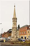 SP4540 : Banbury Cross by Richard Croft