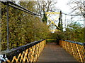 ST6071 : Northern end of a  suspension river footbridge, Bristol by Jaggery