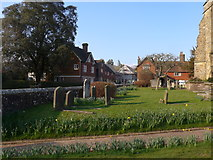 TQ3632 : St Margaret, West Hoathly: churchyard (XII) by Basher Eyre