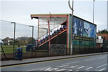 SU6300 : Stand, United Services Recreation Ground by N Chadwick